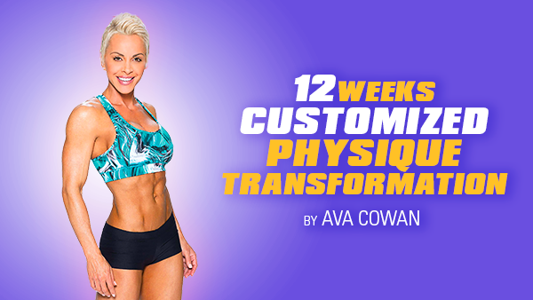 12 Week Customized Physique Transformation