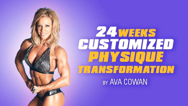 24 Week Customized Physique Transformation - Non Competitor
