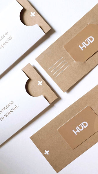 HÜD WRAPPED GIFT VOUCHERS