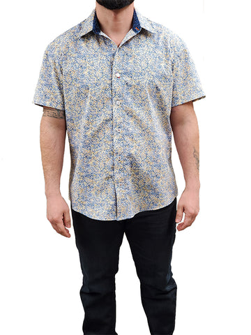 Cross Hatch Button Up Shirt