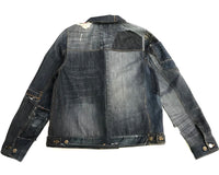 Reconstructed Denim Jacket-Small