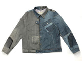50/50 Levi's Denim Jacket Large