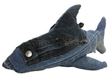 Deconstructed Denim Shark Toof