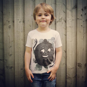 SPIDERMOON - Kids T-Shirt