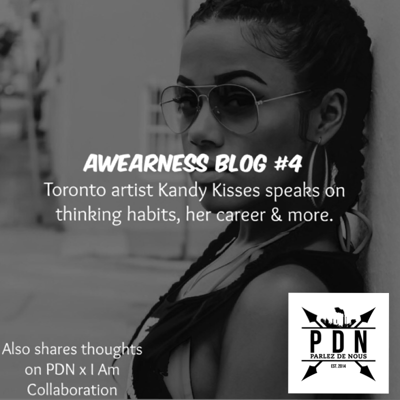 Awearness Blog #4: Flo Rida's artist, Kandy Kisses talks about then and now