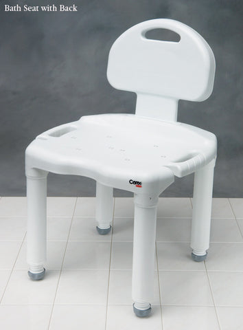 Carex Bath Seat with Back **