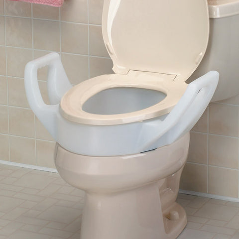 Toilet Seat Riser with Arm
