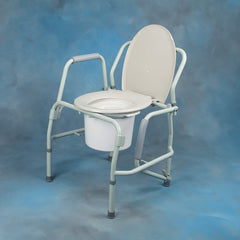 Commode with Drop Arm 300# Cap. **