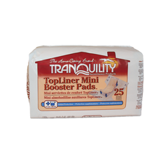 TopLiner™ Incontinence Booster 13.25 Inch Length Moderate Absorbency Polymer Unisex Disposable