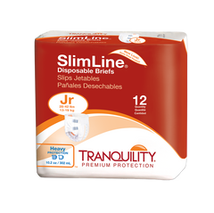 Tranquility® Slimline® Adult Incontinent Brief Tab Closure Disposable Heavy Absorbency