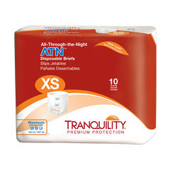 Tranquility® ATN Adult Incontinent Brief Tab Closure Disposable Heavy Absorbency