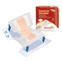 Tranquility® Incontinence Liner Polymer Unisex Disposable