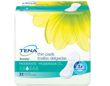 Tena® Bladder Control Pad Serenity® Anywhere™ 13 Inch Length Heavy Absorbency Polymer Female Disposable