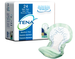 Tena® Incontinence Liner Night Heavy Absorbency Polymer Unisex Disposable