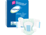 Tena® Adult Incontinent Brief Stretch Super Tab Closure Disposable Heavy Absorbency