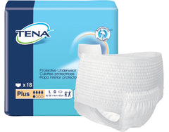 Tena® Adult Absorbent Underwear Plus Pull On Disposable Heavy Absorbency