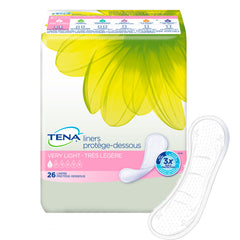 Tena® Bladder Control Pad Serenity® Active™ 8 Inch Length Light Absorbency Polymer Female Disposable
