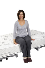 The Floor Hugger Hospital Bed by Transfer Master - Two Function