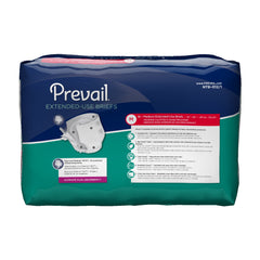 Prevail® Adult Incontinent Brief PM Tab Closure Medium Disposable Heavy Absorbency