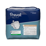 Prevail® Adult Incontinent Brief Nu-Fit Tab Closure Medium Disposable Moderate Absorbency