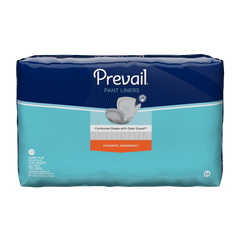 Prevail® Incontinence Liner 28 Inch Length Heavy Absorbency Unisex Disposable - Large Plus
