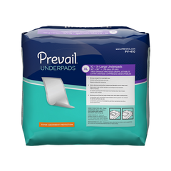 Prevail® Underpad Nexux 30 X 36 Inch Disposable Polymer Heavy Absorbency