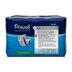 Prevail® Bladder Control Pad 13 Inch Length Moderate Absorbency Polymer Male Disposable
