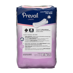 Prevail® Bladder Control Pad 7.5 Inch Length Light Absorbency Quick Wick™ Unisex Disposable