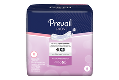 Prevail® Bladder Control Pad Heavy Absorbency Polymer Female Disposable