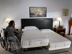 The Supernal Recliner Bed System by Transfer Master - Three Function, Soft Touch