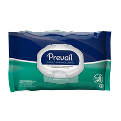 Prevail® Personal Wipe Premium Quilted Washcloths Aloe Fresh Scent