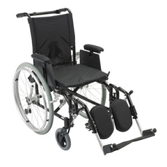 Cougar Ultra Lightweight Rehab Wheelchair, Elevating Leg Rests