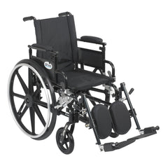 Viper Plus GT Wheelchair with Flip Back Removable Adjustable Desk Arms, Elevating Leg Rests