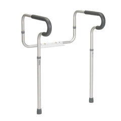 Toilet Safety Frame with Padded Armrests