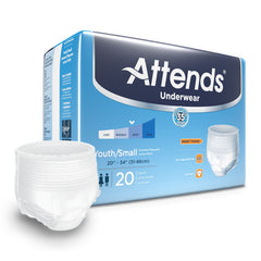 Attends® Adult Absorbent Underwear Pull On Disposable Heavy Absorbency
