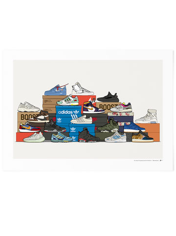 2019 Sneaker Stack<br>★ Black Friday Exclusive ★