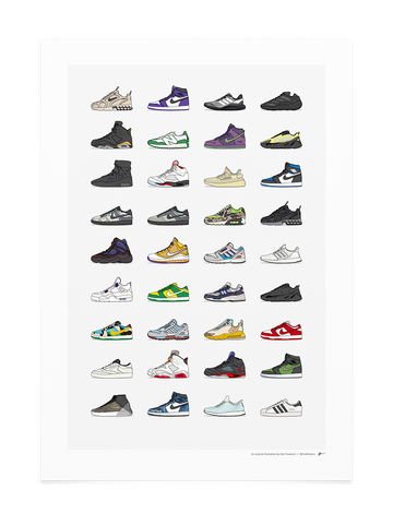 2020 Q2 Assorted Sneaker Print
