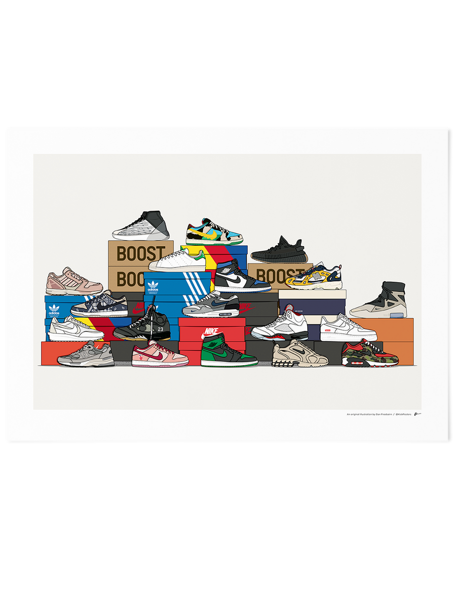 ★ NEW ★<br>2020 Assorted Sneaker Stack<br> • Only 50 copies! •
