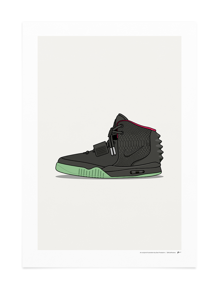 Air Yeezy II - Solar Red