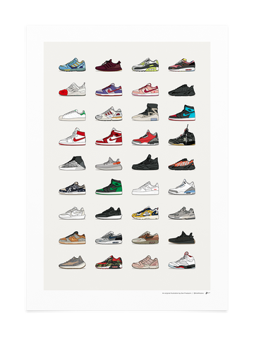 2020 Q1 Assorted Sneaker Print