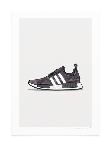 NMD Bape Black