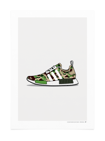 NMD Bape Green