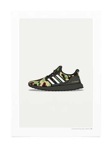 Bape Ultra Boost Green