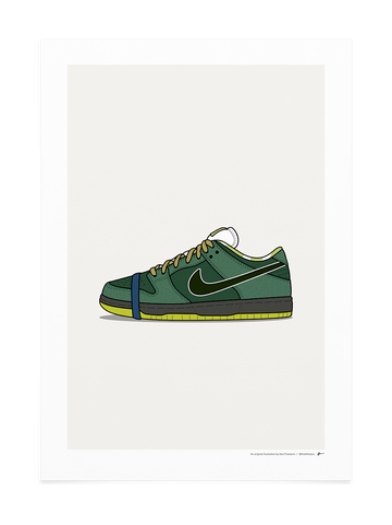 Green Lobster Dunk