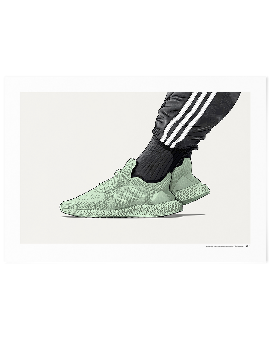 Daniel Arsham 4D<br>On-Foot Limited Edition