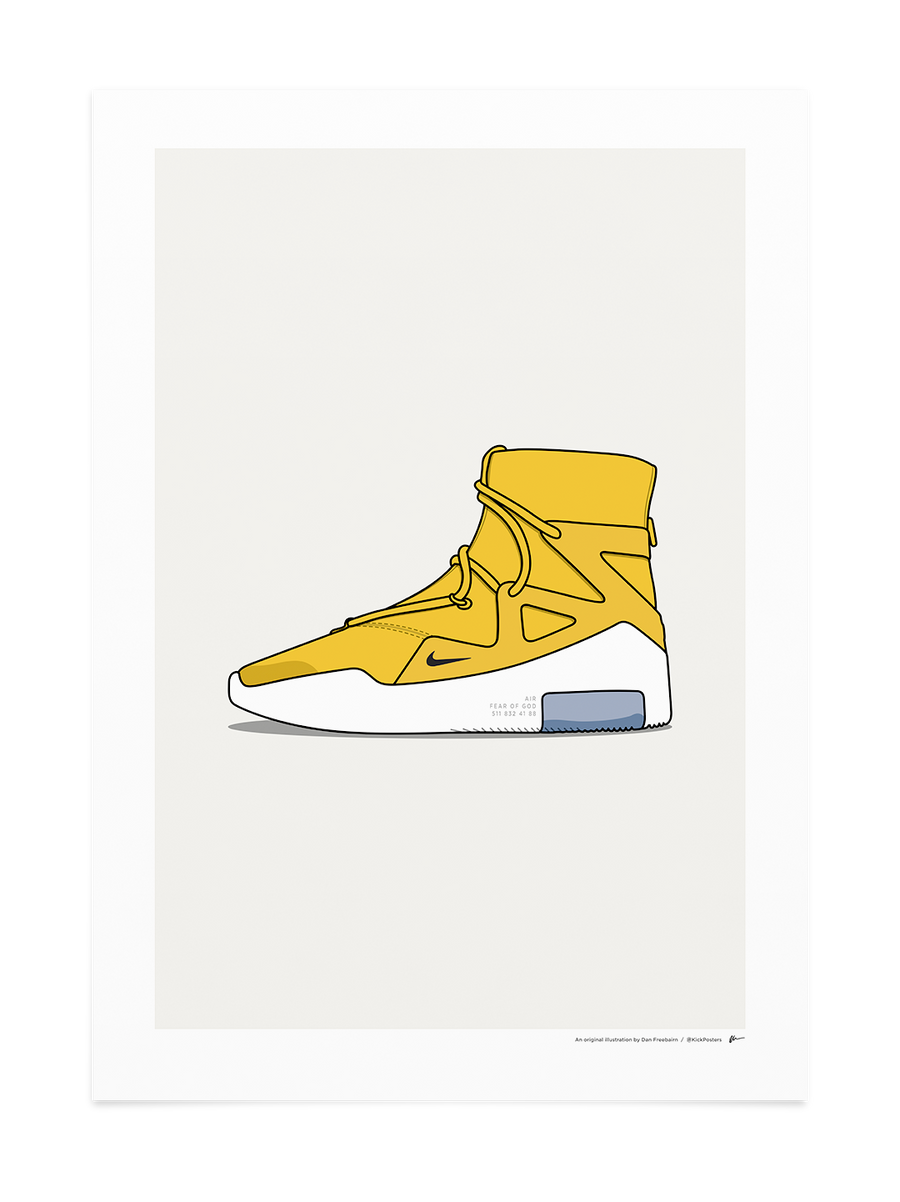 Fear Of God Boot - Yellow