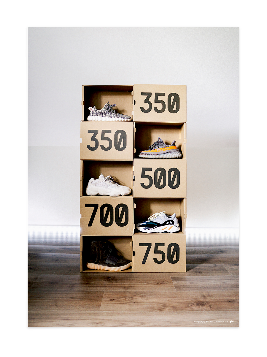 Yeezy Boxes<br>by @hypetobs