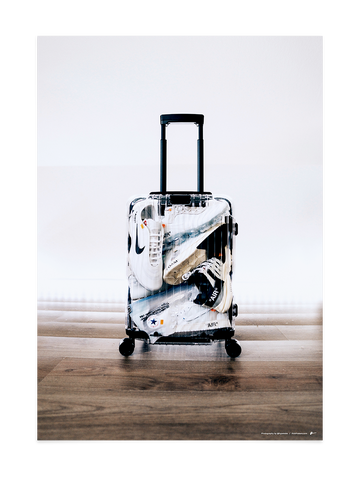 Off-White Luggage<br>by @hypetobs