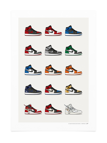 Jordan 1 Hype Collection