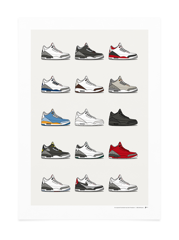 Jordan 3 Hype Collection